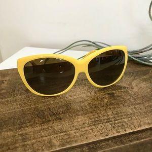 Bright Yellow Ralph Lauren Sunglasses